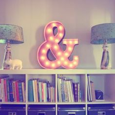 Ampersand Marquee Light Sign