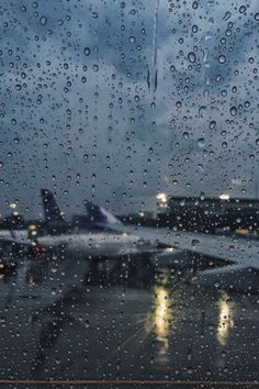 Mixing my loves of rain photography and travel. Perfect!