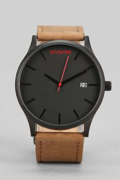 MVMT Classic Leather Watch - Urban Outfitters