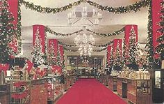 Seattle's Frederick & Nelson department store at Christmas, 1950s