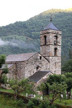 Eglise Sant-Feliu de Barruera  LLeida