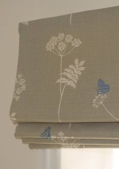 How to sew your own roman blinds
