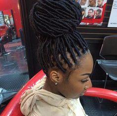 Brazilian Wool Hairstyles In Kenya Faux Locs Hairstyles Natural Hair Styles Locs Hairstyles