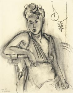 Dionyssos tumbir — artimportant: Henri Matisse - Femme assise...