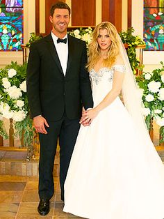 Congratulation to Kimberly Perry!!   Official Wedding Photo with J.P. Arencibia