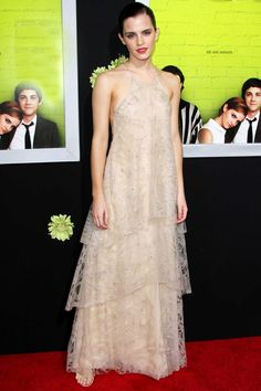 Emma Watson, Armani, Perks of Being a Wallflower premiere