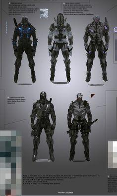 sci-fi character