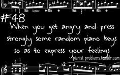 My right hand is stronger than my left. *cough* the second page of Rondo Alla Turca Piano Memes, Piano Quotes, Music Jokes, Music Humor, Funny Music, Choir Humor, I Love Music, Music Is Life, My Music
