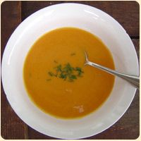 Potage of cream of pumpkin soup, recipe review, Madame E. Saint-Ange, La Bonne Cuisine the Original Companion for French Home Cooking, cookbook review