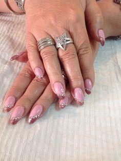 #pink #frenchbiais #paillettepink