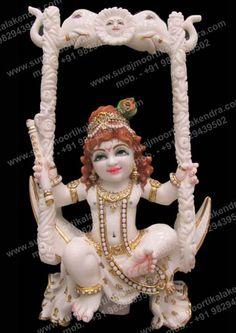 Marble Bal Krishna Idol