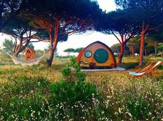 Airbnb Cabin in  Portugal. $61 USD per night.   This cosy wooden pod is perfect for a romantic getaway and city break. With beautiful beaches, endless coastline trails and stunning sunsets over the Atlantic Ocean, the eco-friendly pod invites you to relax, explore and enjoy a peaceful nights.