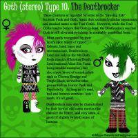 Goth Type 10 - The Deathrocker by Trellia