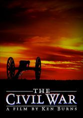 Ken Burns: The Civil War. Ken Burns's documentary depicts the action of famous Civil War battles, and relates the stories of soldiers, generals and a beleaguered president