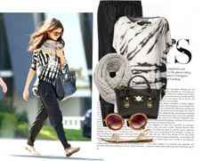 """""""Selena gomez street style #4"""" by mimoza-loulou on Polyvore"""