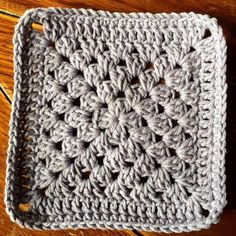 Crochet Granny Square Patterns Plain Granny Square Introduction The humble granny square. I've often said it is the mashed potatoes and gravy of the crochet world. It's the ultimate comfort crochet, and there are a zillion … Crochet Blocks, Granny Square Crochet Pattern, Crochet Squares, Crochet Granny, Crochet Blanket Patterns, Crochet Motif, Diy Crochet, Crochet Cushions, Crochet Pillow