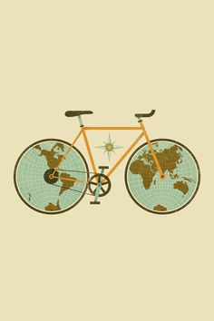 This adventurous bike: