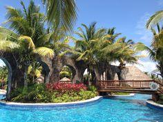 Swimming at Valentin imperial Maya... Weekend get away!!