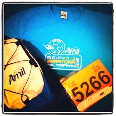 Kit pronto para 10k de domingo - Meia Maratona Amil Campinas 2012