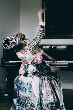 Mask & Dress by SWRD by Sonja Dissberger Photography: Stefan Dotter Styling: Sky Bulatovic Model: Katharina Korbjuhn Hair: Ivana Zoric Make-Up: Kamila Migasiewicz Styling Assistant: Lia von Buddenbrock