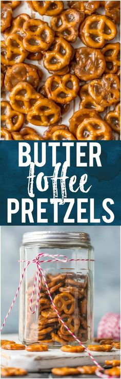 If you're looking for an easy sweet treat, BUTTER TOFFE PRETZELS are divine! These mini pretzels doused in toffee are simple yet addicting...making them the ultimate holiday snack. #caramel #snack #holiday #christmas via @beckygallhardin