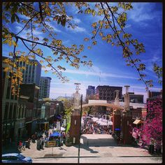 Market Square in Downtown Knoxville, Tennessee