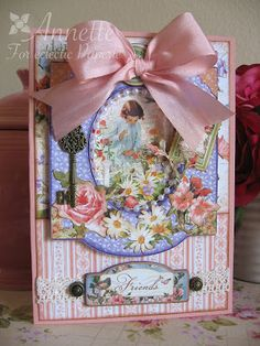 Eclectic Paperie: Secret Garden Friendship Card