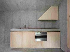Загородный дом из бетона в Швейцарии
