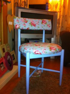 Up cycled chair