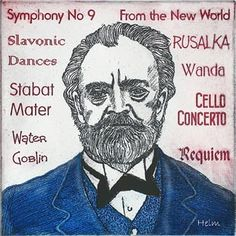 "Antonin Dvorak, the best known Czech composer, is best known for his ""From the New World Symphony"" which was commissioned by the New York Philharmonic during his 3 year stay in America."
