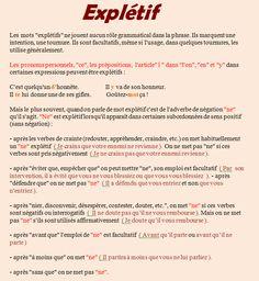 """le """"ne"""" explétif"""