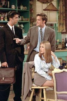 Ross, Chandler & Rachel