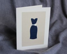 Thank You #Bridesmaid #Card Asking by #patternedpomegranate on Etsy, $3.25 #navyandgold