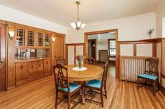 Owned by the same family since it was built! Stunning woodwork that has never been painted. Add'l space on the second level and basement that could be finished. Enjoy the neighborhood on the full length porch.