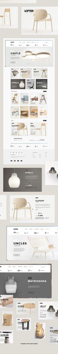 Lofter on Web Design Served