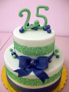 birthday cake ideas for 25 year old woman