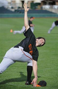 San Francisco Giants Pitcher Barry Zito & Yoga