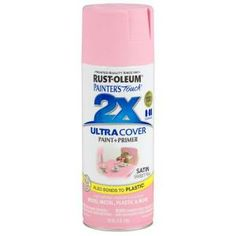 Rust-Oleum Painter's Touch 2X 12-oz. Satin Sweet Pea General Purpose Spray Paint-249063 at The Home Depot