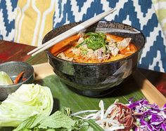 "Khe-Yo: The cuisine at this Laotian restaurant is ""similar to Thai food in its careful balance of sweet and spicy, but with the sour, funky element turned up a notch."""