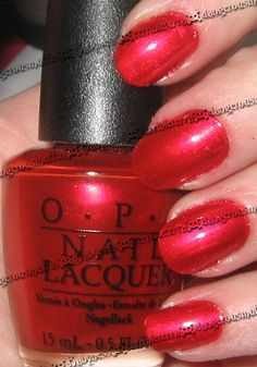OPI - Red Like Roses Collection Valentines/2007 - Apple Of My Eye