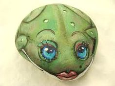PAINTED FROG ROCK