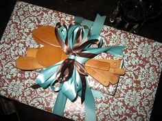 Bridal Shower Gift Wrapping