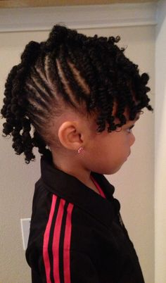 Cute natural hairstyles for girls! By PRIM mobile salon DFW