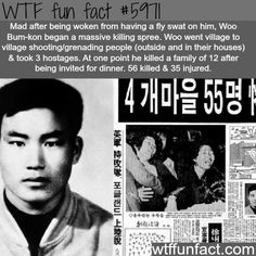 Woo Bum-kon - WTF fun facts