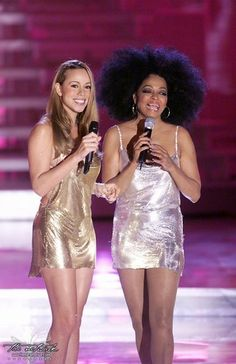 Diana Ross and Mariah Carey at VH1 Return to Music Divas Concert - A Tribute to Diana Ross