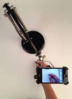 The PERFECT answer to using a forward facing phone camera to take video for a website! IKEA Hackers: Forså Camera Stand