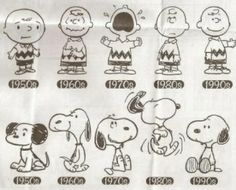 Peanuts through Time