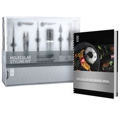 Show off your culinary chops and plating prowess with this comprehensive food styling kit.