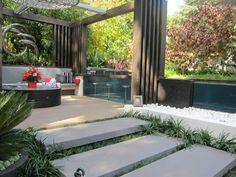 ideas para decorar exteriores modernos
