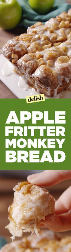Apple Fritter Monkey Bread  - Delish.com                                                                                                                                                                                 More